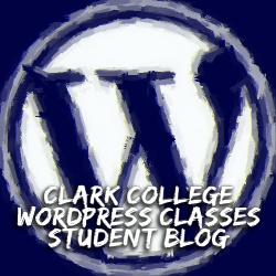 Clark College WordPress Class Student Site - logo - sm.