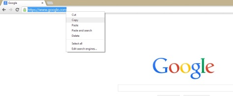 Copying Link Information from The Address Bar