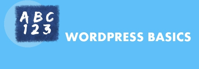 ClarkWP WordPress Basics Category.