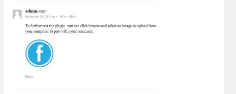 This is me testing my image in a comment with my new plugin.