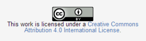 Example of Creative Commons Copyright License.