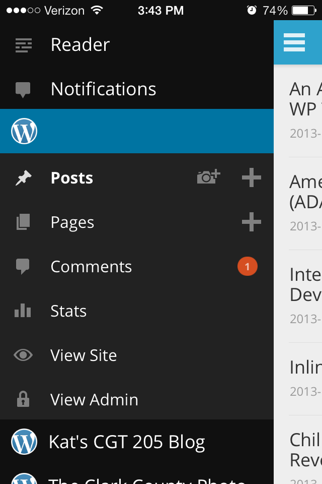 The WordPress App by Automattic for iOS 7: The Good, the Bad, and the Ugly