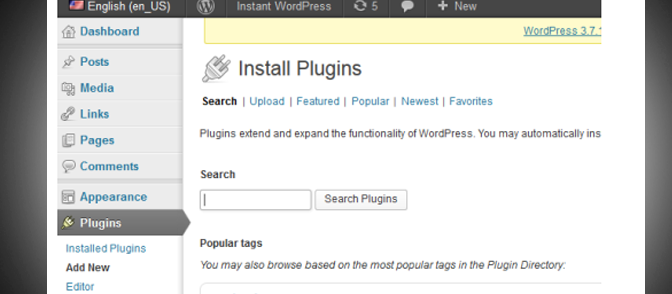 How to Install a WordPress Plugin on InstantWP