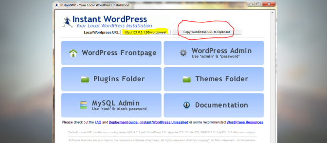InstantWP: What is Instant WordPress?