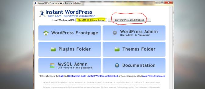 InstantWP: What is Instant WordPress?