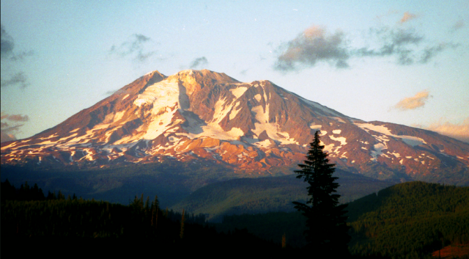 Photograph of Mount Hood, Oregon.