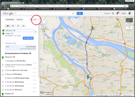 This is a picture of how to start the process of embedding a Google Map into your WordPress.