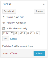WordPress publishing module.