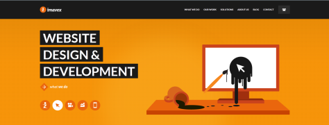 Screenshot of www.imavex.com