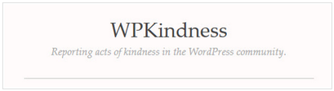 ScreenSnip of logo for WPKindness