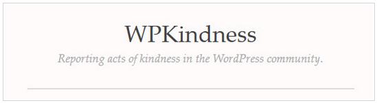 ScreenSnip of logo for WPKindness