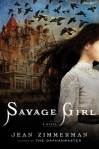 """Cover of book """"Savage Girl"""""""