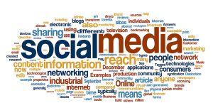 social media concept cloud