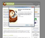 Screenshot showing RSSOwl setup wizard