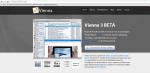 Vienna-rss.org website for downloading Vienna