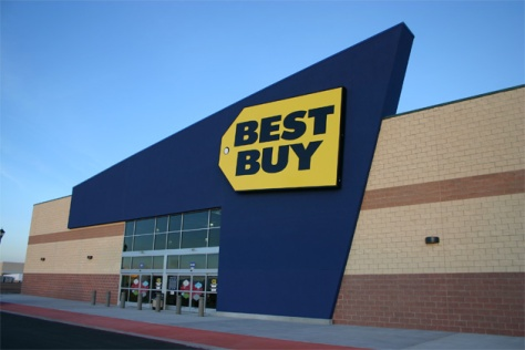 a photo of Best Buy.