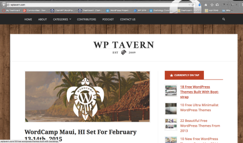 WP Tavern Home Page
