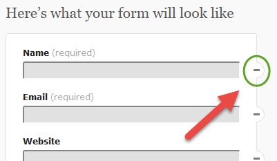Contact Form Delete
