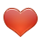 Small heart symbol.