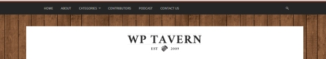 WP Tavern Screen Capture