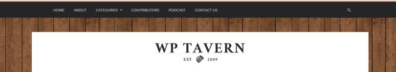 WP Tavern Screen Capture