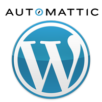 Automattic and WordPress logo.