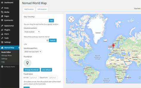 Nomad World Map Plugin Default Map