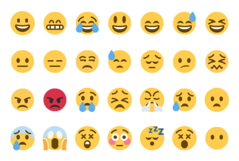 Examples of emoji's used universally