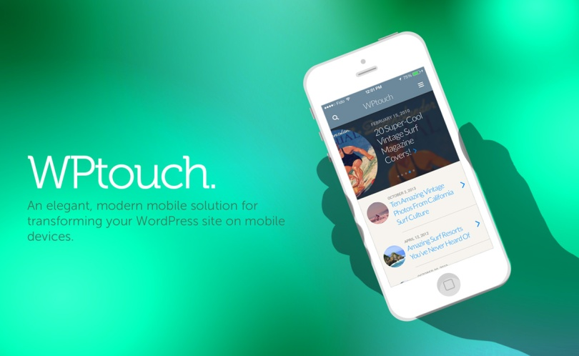 WPtouch Marketing Images.