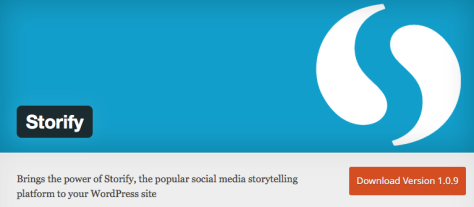 A WordPress plugin for Storify.
